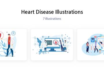 Heart Disease Illustration Pack