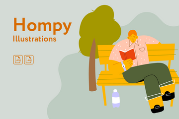 Hompy Illustration Pack