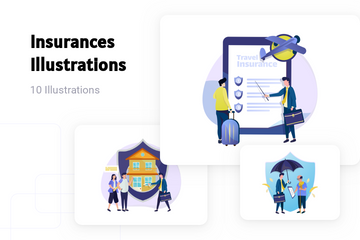 Insurances Illustration Pack