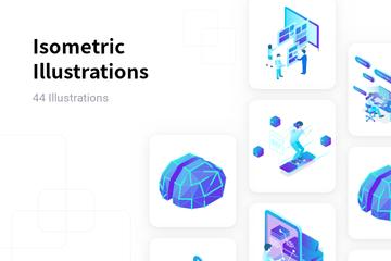 Isometric Illustration Pack