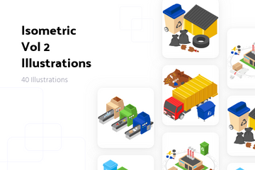 Isometric Vol 2 Illustration Pack
