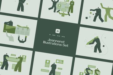 Jeanneret Illustration Pack