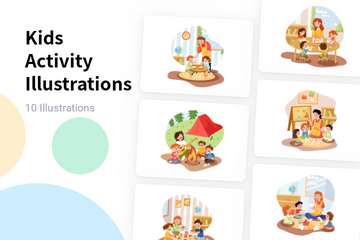 Kids Activity Illustration Pack