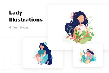Lady Illustration Pack