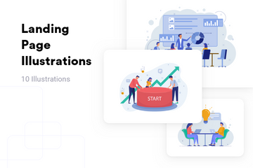 Landing Page Illustration Pack