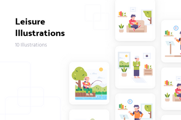 Leisure Illustration Pack