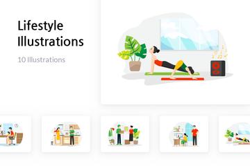 Lifestyle Illustration Pack