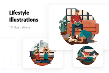 Lifestyle Illustration Pack