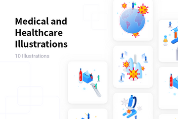 Medical And Healthcare Illustration Pack