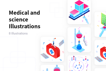 Medical And Science Illustration Pack
