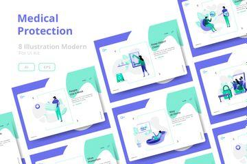 Medical Protection Illustration Pack