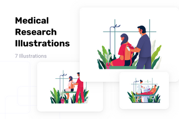Medical Research Illustration Pack
