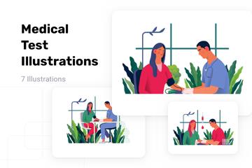 Medical Test Illustration Pack