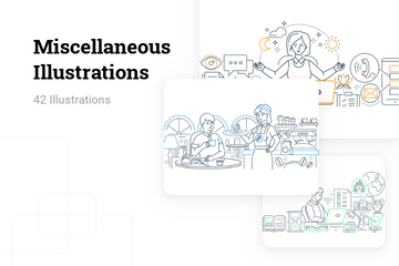Miscellaneous Illustration Pack
