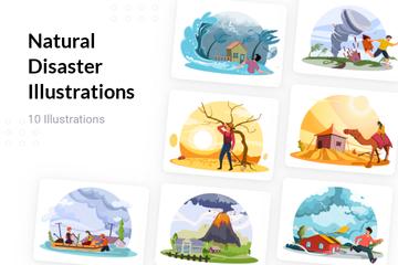 Natural Disaster Illustration Pack