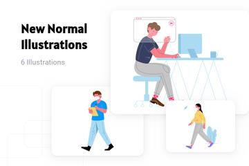 New Normal Illustration Pack