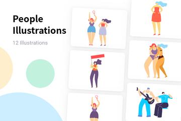 People Illustration Pack