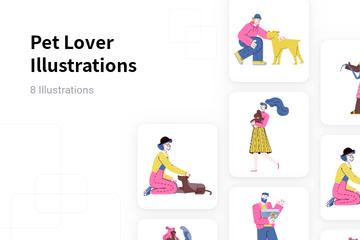 Pet Lover Illustration Pack