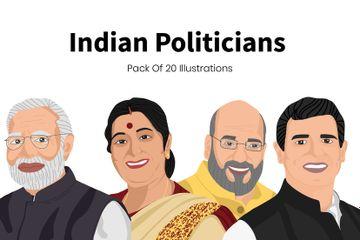 Politicians Illustration Pack