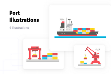 Port Illustration Pack