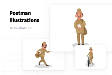 Postman Illustration Pack