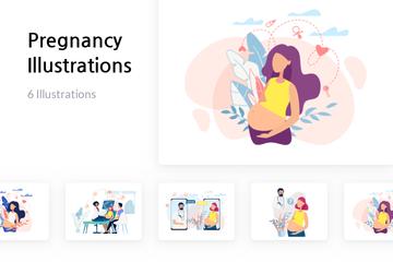 Pregnancy Illustration Pack