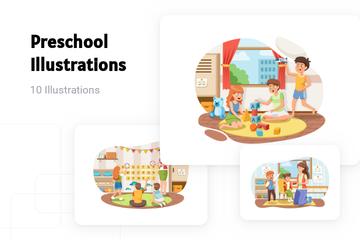 Preschool Illustration Pack