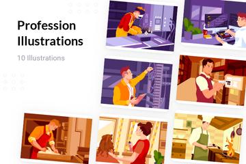 Profession Illustration Pack