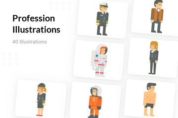 Profession Illustration Pack
