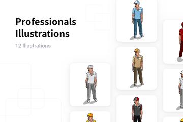 Professionals Illustration Pack