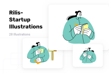Rilis-Startup Illustration Pack