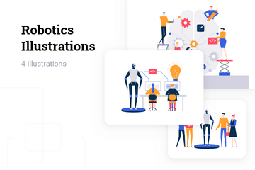 Robotics Illustration Pack