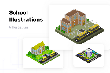 School Illustration Pack