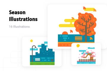 Season Illustration Pack
