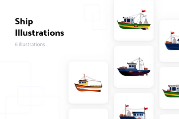 Ship Illustration Pack