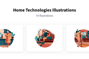 Smart Technologies Illustration Pack