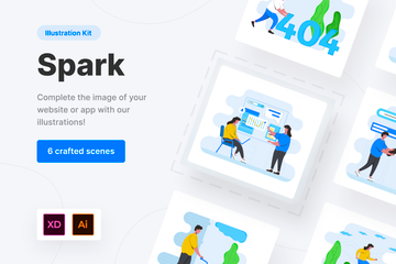 Spark Illustration Kit Illustration Pack