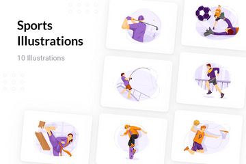 Sports Illustration Pack