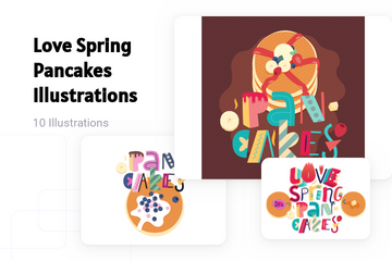 Spring Pattern Illustration Pack