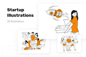 Startup Illustration Pack