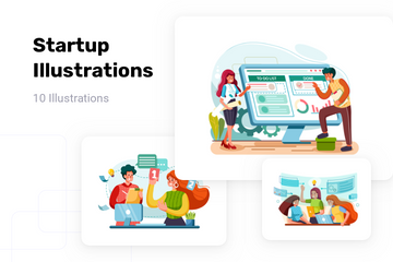 Startup Illustration Pack