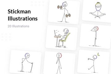 Stickman Illustration Pack