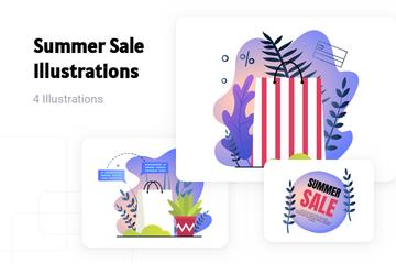 Summer Sale Illustration Pack