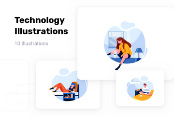 Technology Illustration Pack