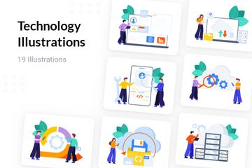 Technology Illustration Pack