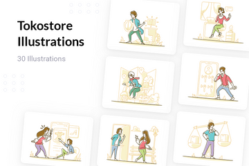 Tokostore Illustration Pack