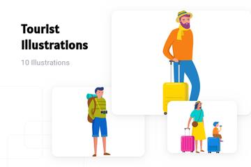 Tourist Illustration Pack