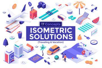 Traveling Illustration Pack