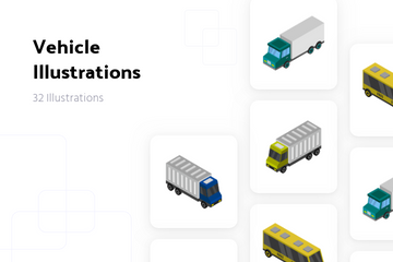 Vehicle Illustration Pack