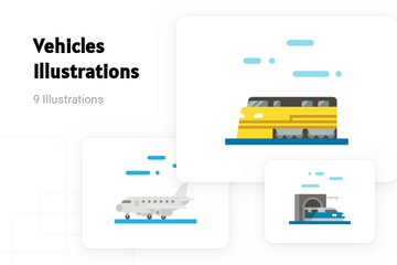 Vehicles Illustration Pack
